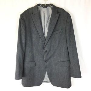 Banana Republic Size 44R Sports Coat Gray Tailored
